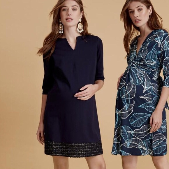 7e9051c819283 Madderson London Dresses | Navy Camilla Maternity Dress | Poshmark